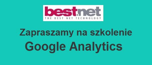 Zapraszamy na szkolenie Google Analytics
