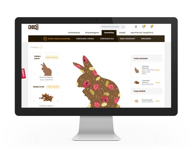 Realizacja e-commerce choc&play