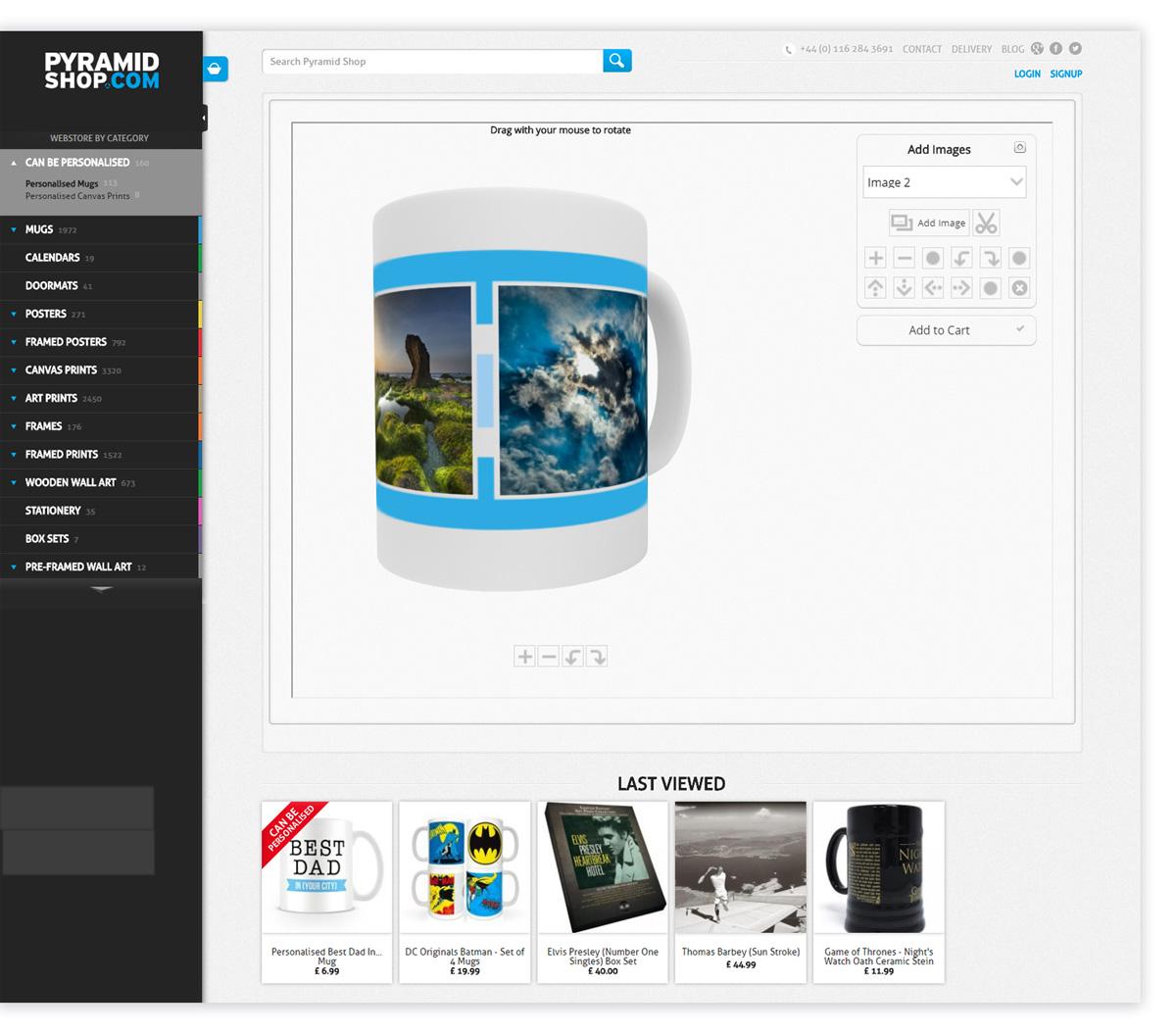 BestNet Personalizacja produktow PyramidShop Frontend