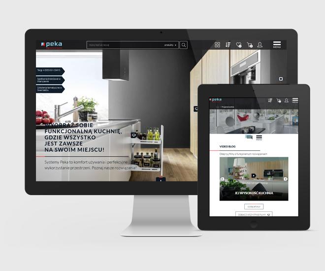 Realizacja E-Commerce dla Peka Polska - sklep internetowy B2C i B2B