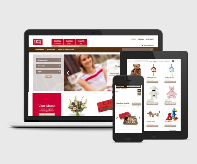 Realizacja - wdrożenie E-Commerce Tasty Presents